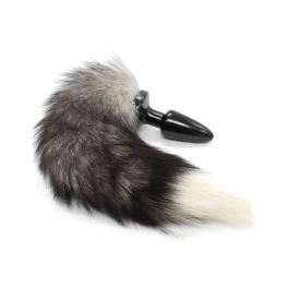 TPR arctic fox tail anal plug