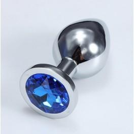 sparkle jewelry anal metal plug middle size